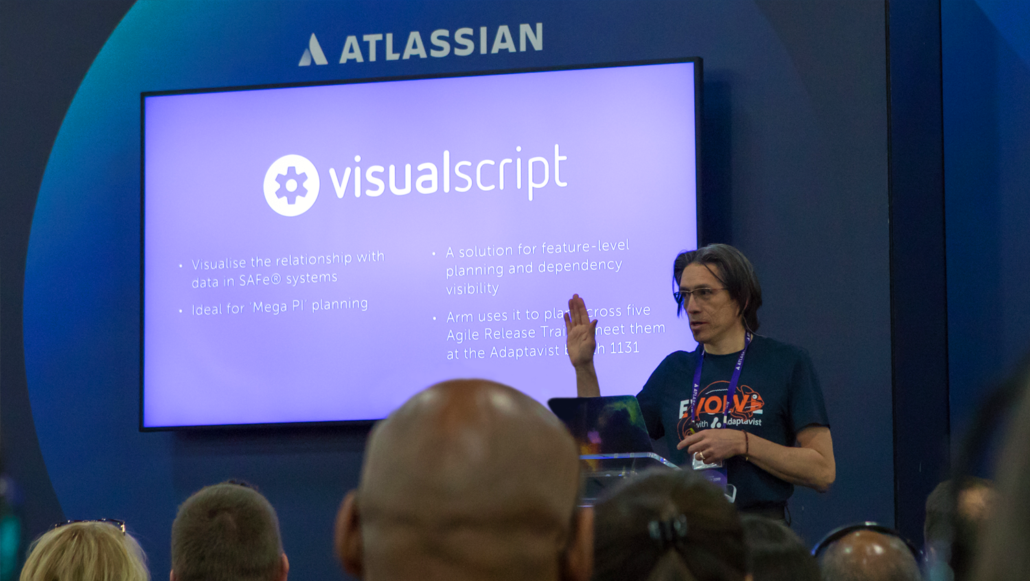 VisualScript at the Atlassian Summit